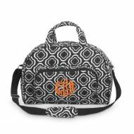 Monogrammed In The Loop Quilted Day Traveler Bag In Black And White