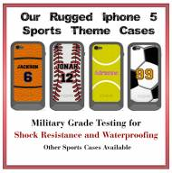 Personalized Ultra Rugged Atlas Incipio IPhone 5 Sport Theme Cases