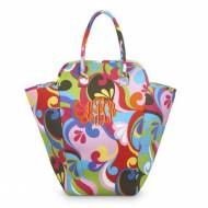 Floral Monogrammed Eva Hamper Or Pool Tote Bag