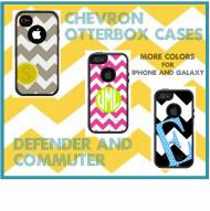 Customized Chevron OtterBox Commuter Cases For IPhone And Galaxy