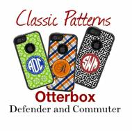 Customized Classic Pattern OtterBox Commuter Cases For IPhone And Galaxy