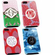 Monogrammed Premium And Tough Iphone 4, 5, 5s Cases