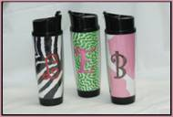 New Slimmer 16 Oz Monogrammed Travel Mugs