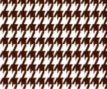 Houndstooth Brown