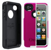 Solid Black Otterbox For Iphone 4