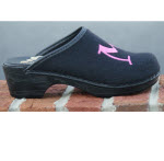 Black Flex Comfort Heel