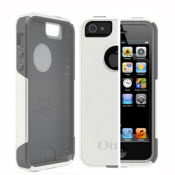 White And Gray  Otterbox For Iphone 5