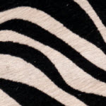 Cow Hide Zebra Fur