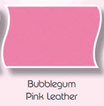 Leather Bubble Gum Pink