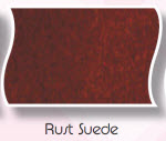 Rust Suede Clog