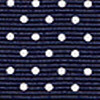 Navy Swiss Dot