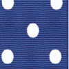 Royal Blue W/ White Polka Dot